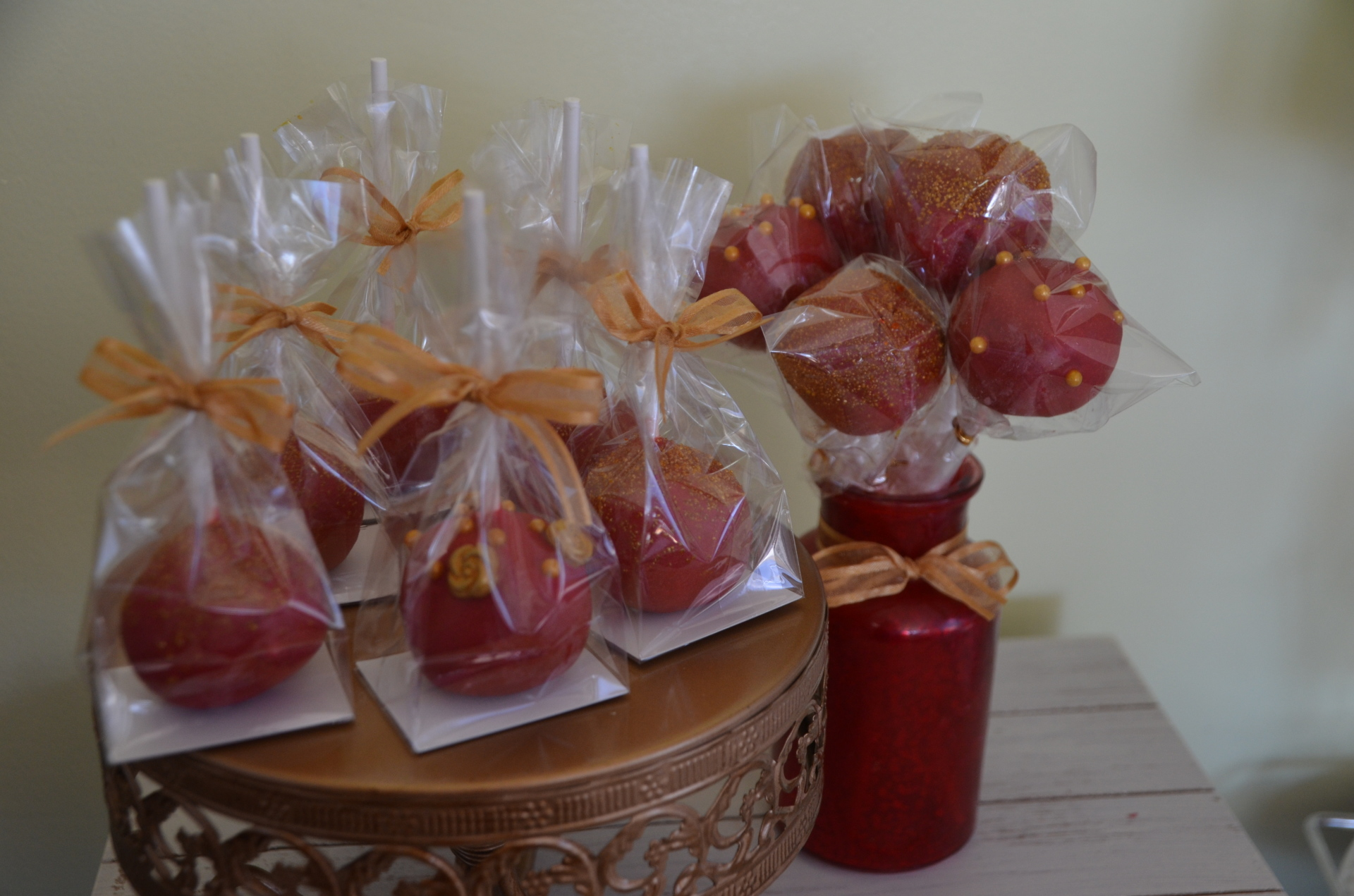 Chinese New Year Cake pops